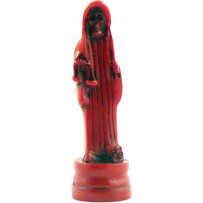 "Santa Muerte (Holy Death) 5"" statue - red"