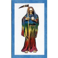 Santa Muerte/Holy Death Prayer Card (7-Color)