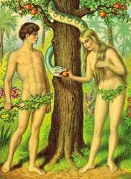 Adam and Eve (Adan Y Eva) Chromolith (version 1)