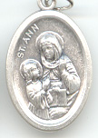 St. Anne (Santa Ana) Medal - Click Image to Close