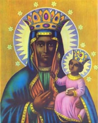 Our Lady of Perpetual Help (Mater Salvatoris) (Santa Barbara Africana) Chromolith