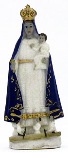 Our Lady of Charity (Caridad del Cobre) Car Statue