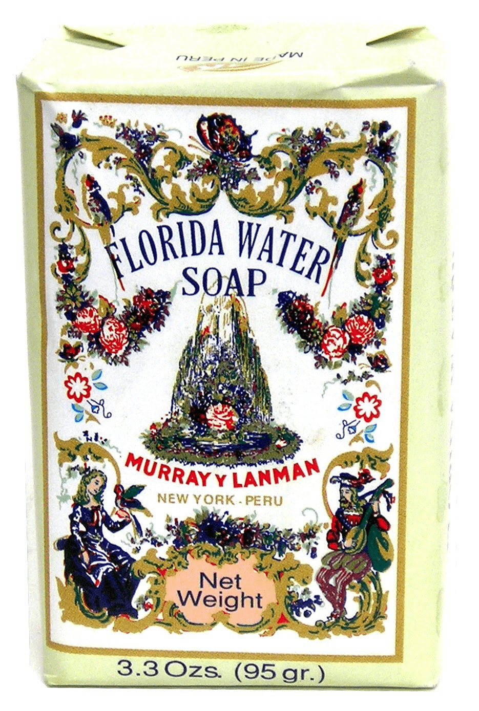 Florida Water (Agua Florida) Soap - 3.3oz bar