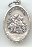 St. George (San Jorge) Medal - Click Image to Close