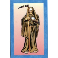 Santa Muerte/Holy Death Prayer Card (Gold)