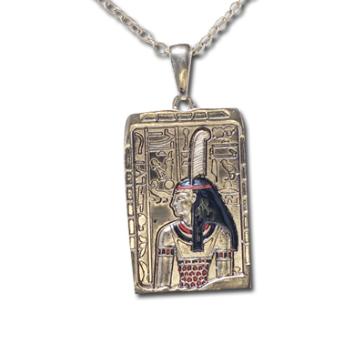 Goddess Ma'at (Mayet) Pendant
