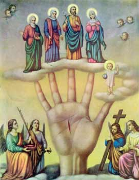 Hand of Glory (Helping Hand) (Mano Poderosa) Chromolith