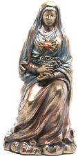 "Our Lady of Sorrows (Mater Dolorosa) 7"" Deluxe Statue (Bronze)"