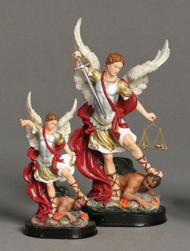 "St. Michael (Archangel Miguel) 24"" Statue - Click Image to Close"