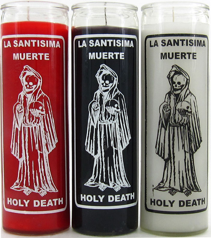 Holy Death / La Santa Muerte (Santisima Muerte) Candles
