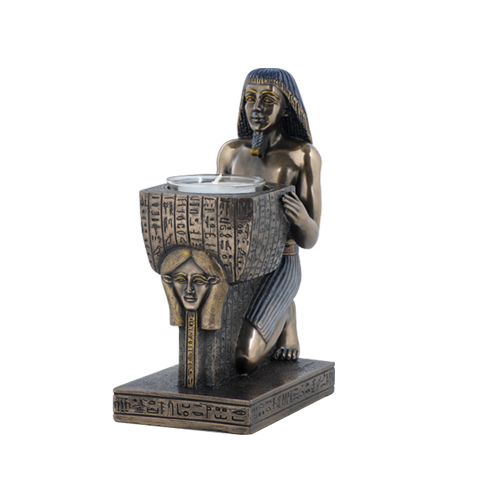 "Hathor (Hethert) Priest Votive Statue (6"")"