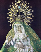 Our Lady of Hope (Nuestra Senora de la Esperanza) Chromolith