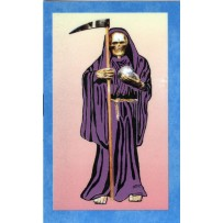 Santa Muerte/Holy Death Prayer Card (Purple)