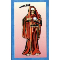 Santa Muerte/Holy Death Prayer Card (Red)