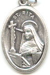 St. Rita of Cascia (Santa Rita) Medal - Click Image to Close