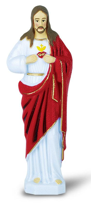 Sacred Heart of Jesus (Sagrado Corazon) Car Statue