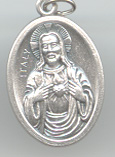 Sacred Heart of Jesus (Sagrado Corazon) Medal