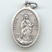 Our Lady Star of the Sea (Stella Maris) (Diosa del Mar) Medal - Click Image to Close
