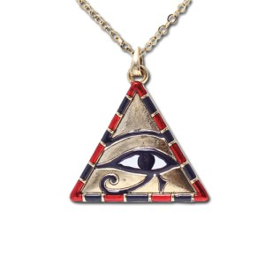 Eye of Horus/Pyramid Pendant