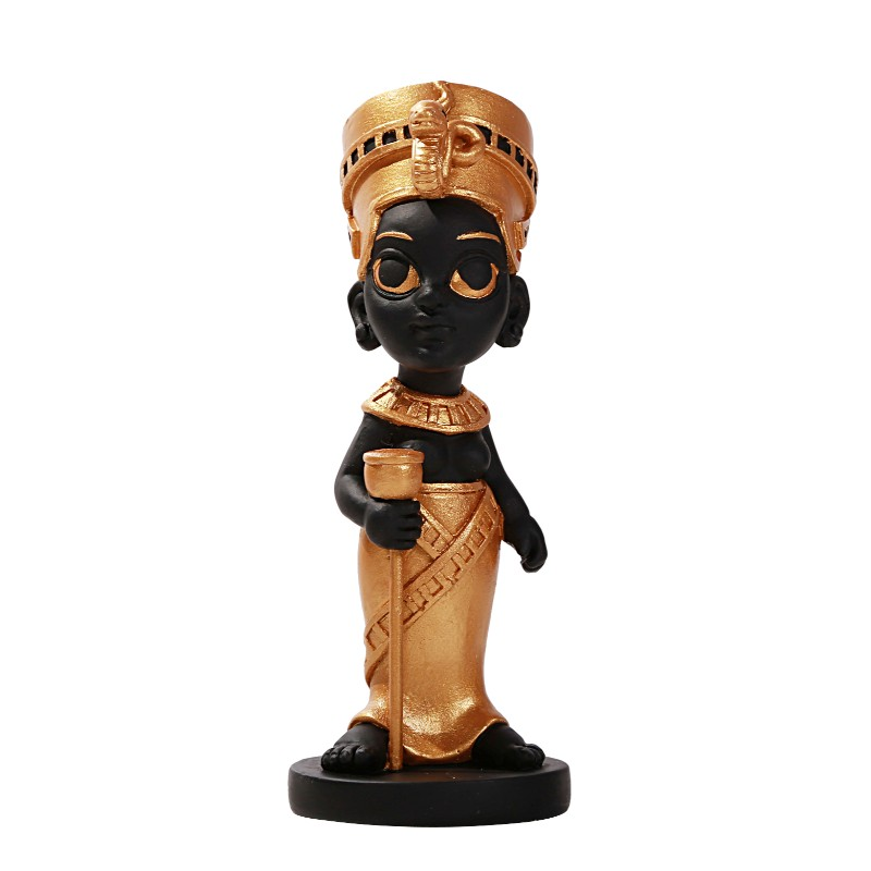 "Cute Nefertiti 5.75"" Statue"