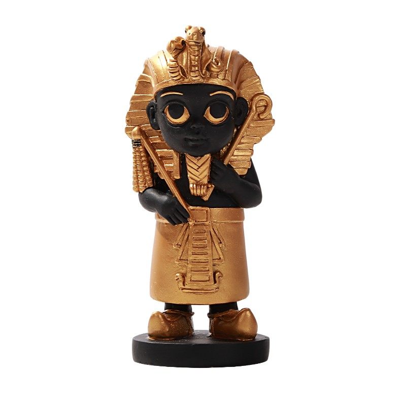 "Cute King Tut 5.75"" Statue"